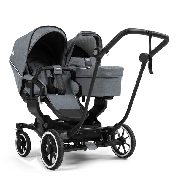 NXT Twin 2530102 NXT Carrycot Lounge Grey 3