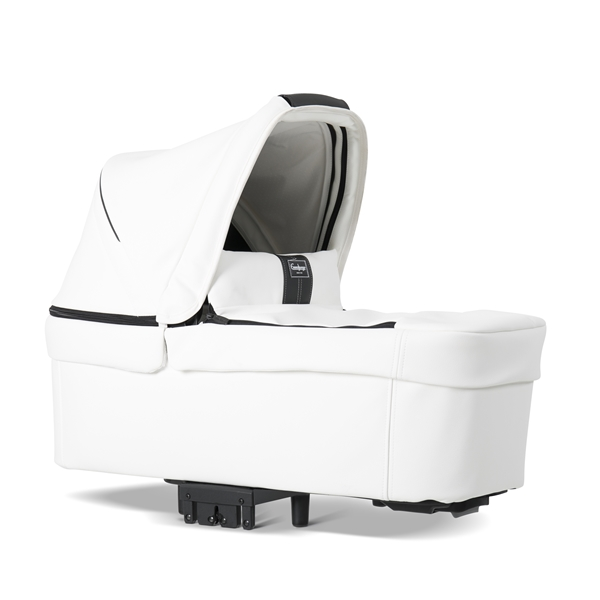 NXT Twin 30009-36009 NXT Carrycot Leatherette White 3