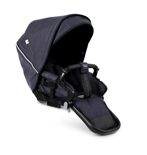 NXT Twin 30002-36002 NXT Carrycot Lounge Navy Eco 2