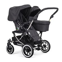 Double Viking 735 (Seat / Carrycot) 29910y Lounge Black