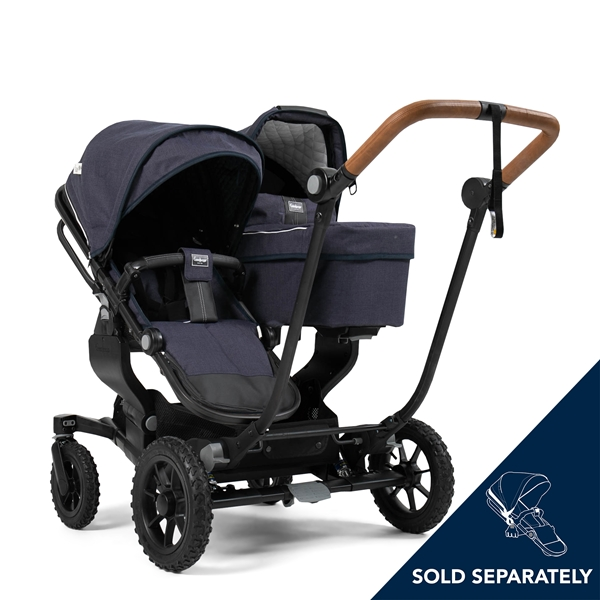 NXT Twin 30002-30002 NXT Carrycot Lounge Navy Eco 3