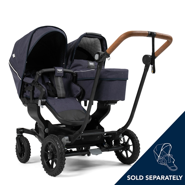 NXT Twin 30002-30002 NXT Carrycot Lounge Navy Eco 4