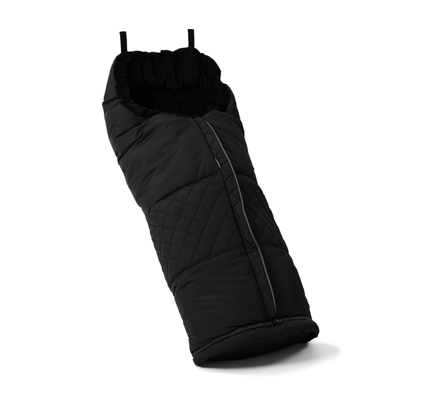 Footmuff 56004 Lounge Black Eco