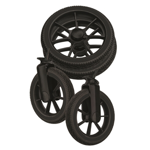 Wheel Package 96081 Black solight /Black Duo S, D-Viking (4pc)