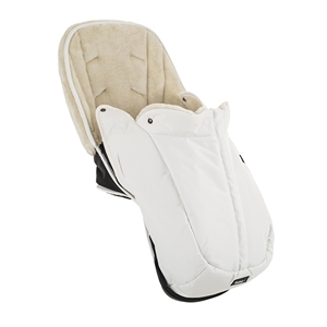 NXT Winter Seat Liner 57925 Leatherette White