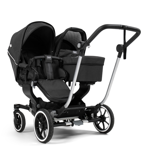 NXT Twin 30004-36004 NXT Carrycot Lounge Black Eco