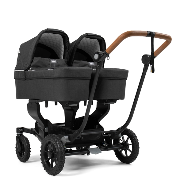 NXT Twin 30004-30004 NXT Carrycot Lounge Black Eco