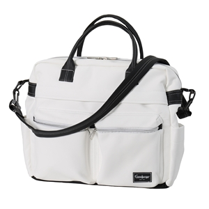 Skötväska Travel 45107 Leatherette White