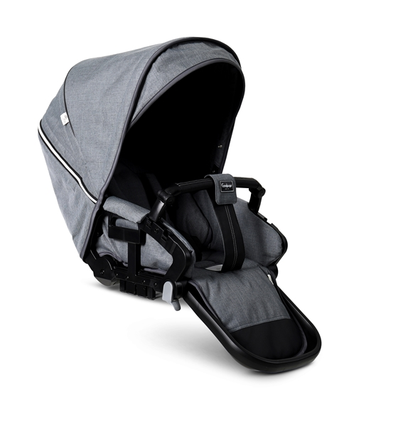 NXT Twin 30003-36003 NXT Carrycot Lounge Grey Eco 2