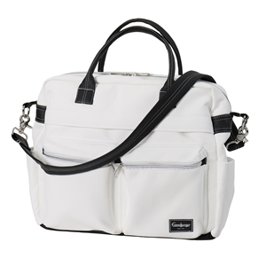 Skötväska Travel 45009 Leatherette White