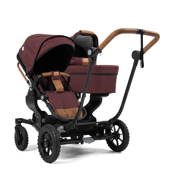 NXT Twin 30007-33007 NXT Carrycot Outdoor Savannah Eco