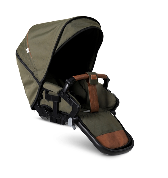 NXT Twin 30008-36008 NXT Carrycot Outdoor Olive Eco 2