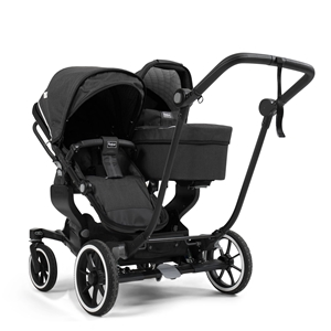 NXT Twin 30103-33103 NXT Carrycot Lounge Black