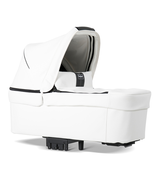 NXT90 2330009 NXT Carrycot Leatherette White 3