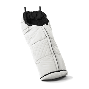 Footmuff 56107 Leatherette White