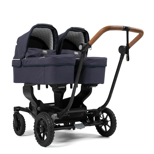 NXT Twin 30002-30002 NXT Carrycot Lounge Navy Eco