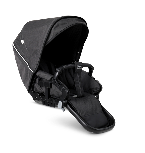 NXT Twin 30004-36004 NXT Carrycot Lounge Black Eco 2