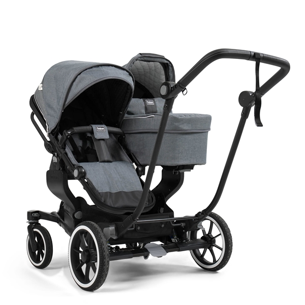 NXT Twin 2530102 NXT Carrycot Lounge Grey 2