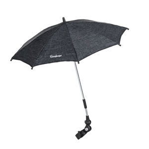 Parasol 52004 Lounge Black Eco