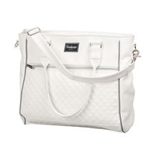 Exclusive Changing Bag 46925 White Leath.