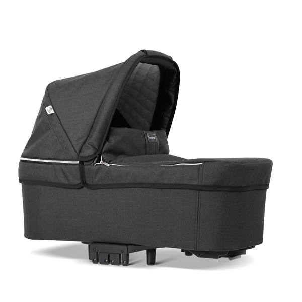 NXT Twin 30004-30004 NXT Carrycot Lounge Black Eco 2