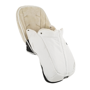 NXT Ergo Winter Seat Liner 57107 NXT Winter Seat Liner Leatherette White