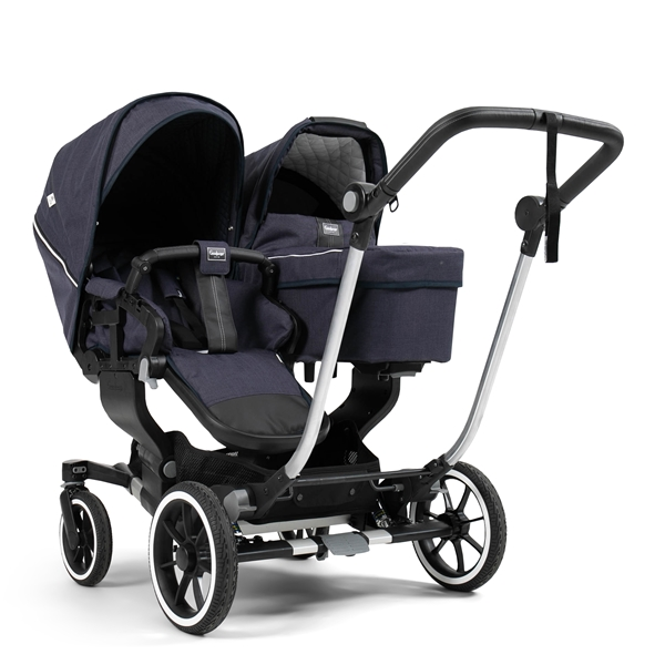 NXT Twin 30002-36002 NXT Carrycot Lounge Navy Eco