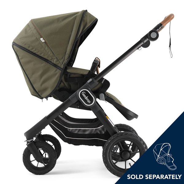 NXT90 F 2230008 NXT Carrycot Outdoor Olive Eco 4