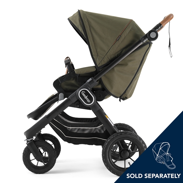 NXT90 F 2230008 NXT Carrycot Outdoor Olive Eco 5