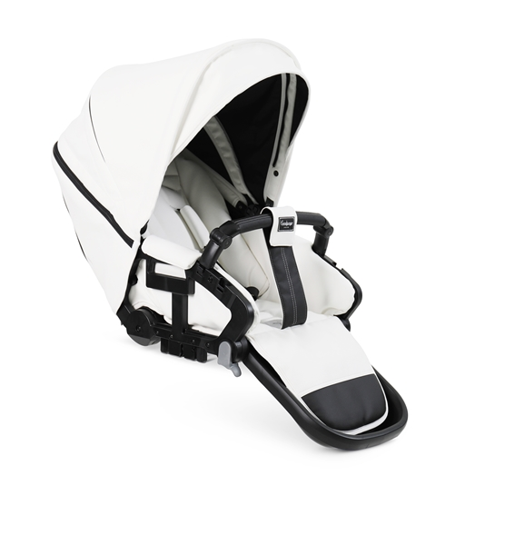 NXT Twin 30009-36009 NXT Carrycot Leatherette White 2