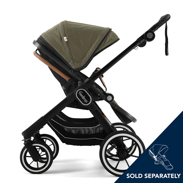 NXT90 2330008 NXT Carrycot Outdoor Olive Eco 4