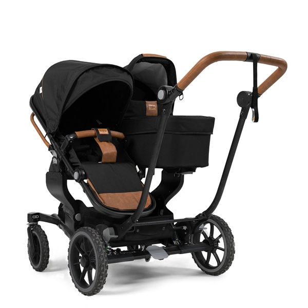 NXT Twin 2530105 NXT Carrycot Outdoor Black 2