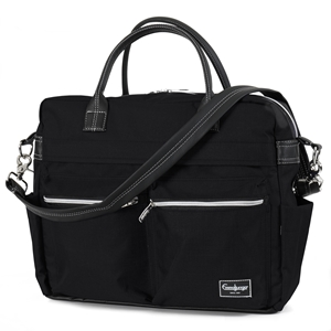 Wickeltasche Travel 45060 Supreme Black