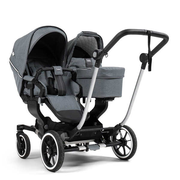 NXT Twin 30003-36003 NXT Carrycot Lounge Grey Eco