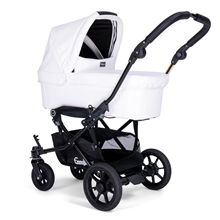 Viking/Double Viking Carrycot Unit 34925UK Leatherette White
