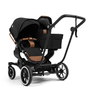 NXT Twin 30105-33105 NXT Carrycot Outdoor Black