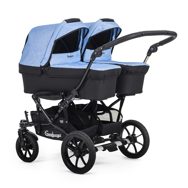 Double Viking 735 (2 Carrycots) 34918x Competition Blue