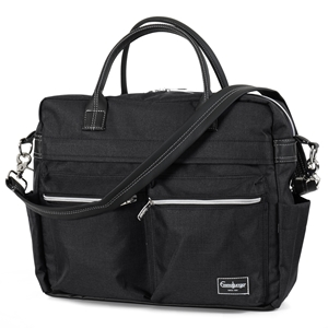 Skötväska Travel 45004 Lounge Black Eco
