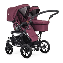 Double Viking 735 (Seat / Carrycot) 29902y Eco Red