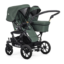 Double Viking 735 (Seat / Carrycot) 29903y Eco Green