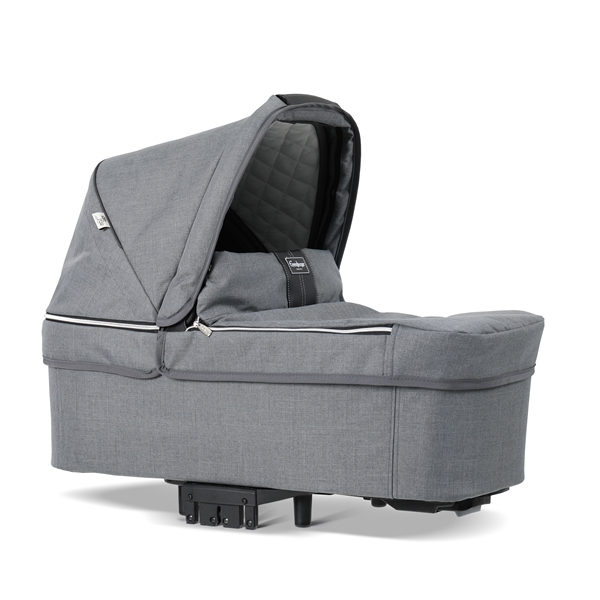 NXT Twin 30003-30003 NXT Carrycot Lounge Grey Eco 2